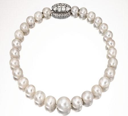 collier perle naturelle