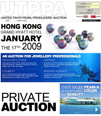UNITED TAHITI PEARL PRODUCERS' AUCTION